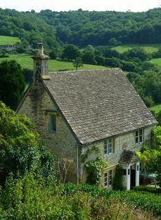Rose Cottage in England.