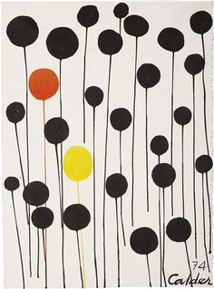 alexander calder, color, alexand calder, calder red, contemporary art