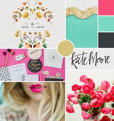 moodboard by breanna rose / feminine edge