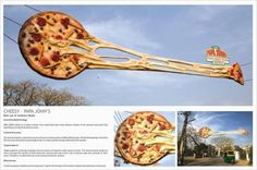 This would definitely put pizza on the mind for lunch time! Brought to you by ShopletPromos.com - promotional products for your business.