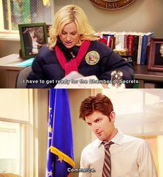 ah leslie knope, you are my dork-hero. (Parks and Recreation)
