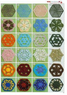2189 patrones de ganchillo