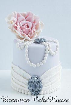 Beautiful romantic cake!