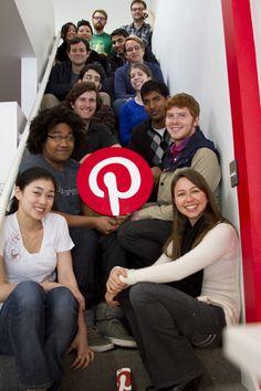 The great #Pinterest #Team!