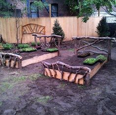 Just imagine what this Raised Garden Bed looks like when everything is planted!