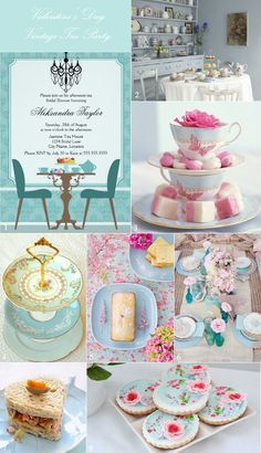 Host a Vintage Tea Party for the Bridesmaids