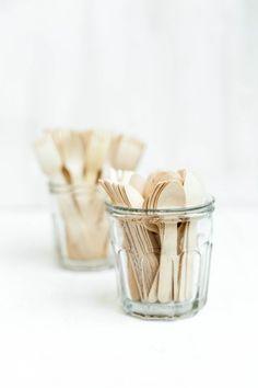 Wooden Cutlery ❥