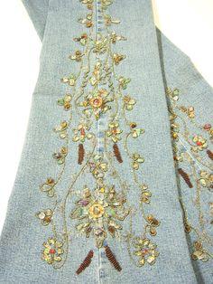 Boho Chic bead embroidery