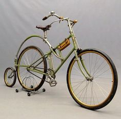 pinterest.com/fra411 #bicycle - A Rex bicycle from the 1890's