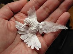 paper art of Cheong-ah Hwang