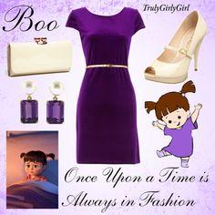 Disney Style: Boo, created by trulygirlygirl on Polyvore