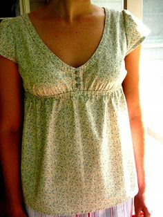 Wiksten: how to make a gathered cap sleeve