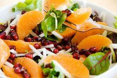 Insalata di arance e melagrana- Ricette light post festività