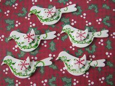 Christmas Partridge Bird Shrinky Dinks