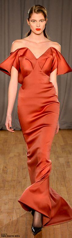 Glamour Gowns...Zac Posen Fall 2014 RTW