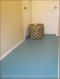 paint subfloor, basement colour, basement flooring, diy basement, concrete floors, painted floors