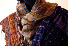 Randall Darwall handwoven scarves
