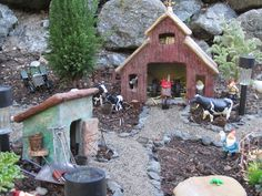 miniatur garden, fairi garden, fairi fun, garden villag, garden cont, garden features, mini gardens, magic onion