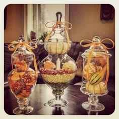 falltastic apothecary jars