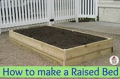 I love the idea of being able to grow my own veggies even in my rocky yard.