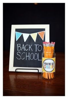 back to school {free} printables