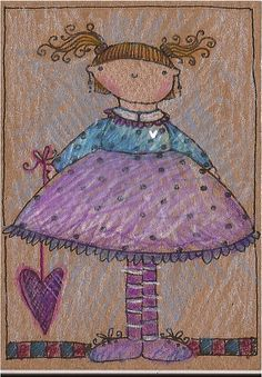 little miss polkie sunshine - day 8 by lindsay ostrom, via Flickr