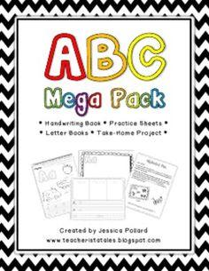Great alphabet activities for beginning of kindergarten!