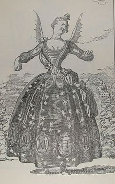 """The Hours of Night"", an 18th century costume idea."