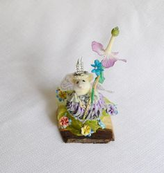 Taxidermy Mouse by NimbleMatters on Etsy, $150.00