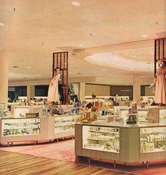 Robinsons Department Store Westminster, CA. I wish department stores still looked like this.