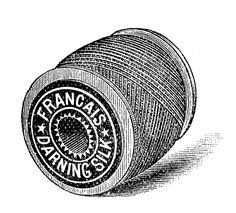 *The Graphics Fairy LLC*: Vintage Sewing Clip Art - Thread - Embroidery