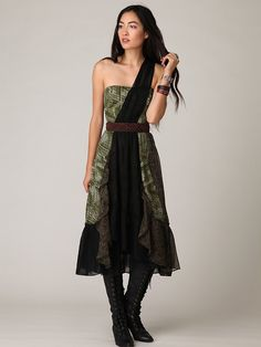 Festival One Shoulder Dress at Free People Clothing Boutique