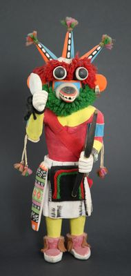 Kachina - Hopi Three-Horned Kachina