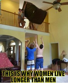 This is Why Women Live Longer Then Men