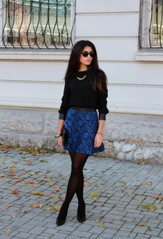 16 Fall Outfit Ideas with Skirts