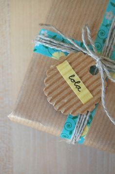 About the nice things: Nice Packaging: Craft y Washi Tape