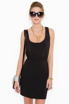 { little black dress}