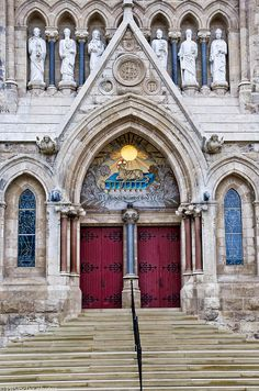 The Church of Our Lady of the Immaculate Conception in Guelph. The Church was built in 1876. Architect: John Connolly in C13 French Gothic Style. Image by: PRS Images.