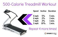 Fun treadmill workout