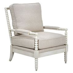 Z GALLERIE SPINDLE CHAIR