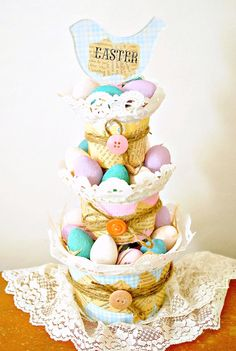 20 Easter Decor Ideas & Crafts - The Crafted Sparrow