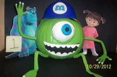 Mike Wazowski Pumpkin Contest Winner!