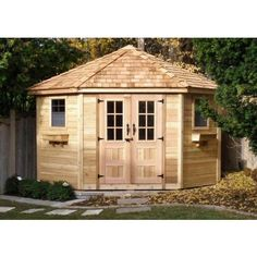 Garden Shed - Penthouse 9x9 Five Sided Shed, so much better looking than your average garden shed!