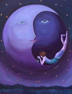 Moon:  Purple #Moon.