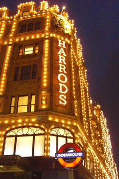 Harrods ~ http://VIPsAccess.com/luxury-hotels-london.html