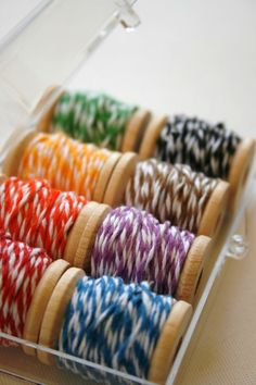 Bakers twine emergency kit - LOVE THIS!