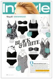 Vaska is great for washing swim wear as seen in InStyle Mag