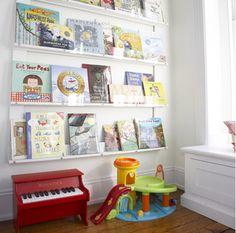 great bookshelf idea!