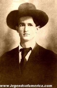 Bob Dalton, leader of the outlaw Dalton Gang: