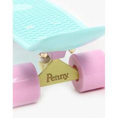 Mint n Light Pink Penny Board